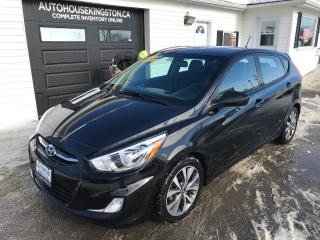 Used 2017 Hyundai Accent GLS for sale in Kingston, ON