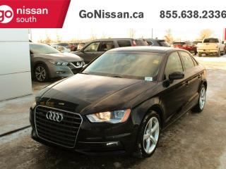 Used 2016 Audi A3 KOMFORT: QUATTRO, LEATHER, SUNROOF!! for sale in Edmonton, AB