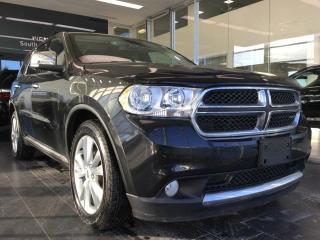 Used 2012 Dodge Durango CREW PLUS, 7 SEATER, V6 for sale in Edmonton, AB
