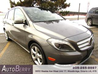 Used 2013 Mercedes-Benz B-Class B250 - PANO ROOF for sale in Woodbridge, ON