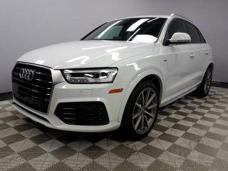 Used 2017 Audi Q3 2.0T Technik for sale in Edmonton, AB