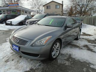 Used 2010 Infiniti G37X  for sale in Orillia, ON