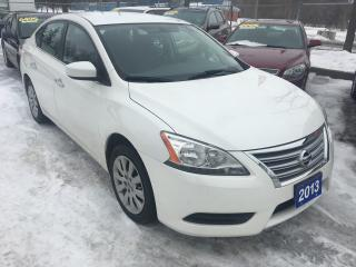 Used 2013 Nissan Sentra S for sale in St Catharines, ON