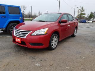 Used 2014 Nissan Sentra for sale in Orillia, ON