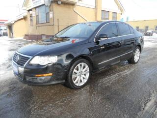 Used 2009 Volkswagen Passat Highline 2.0T Auto Leather Sunroof Certified 187Km for sale in Etobicoke, ON