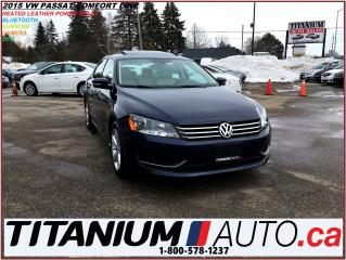 Used 2015 Volkswagen Passat COMFORTLINE+Camera+Sunroof+Heated Leather+Bluetoot for sale in London, ON