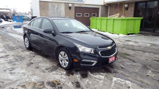 Used 2015 Chevrolet Cruze 1LT/AUTO/BACKUP CAMERA/BLUETOOTH/$11999 for sale in Brampton, ON