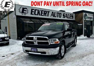 Used 2012 RAM 1500 SLT QUAD CAB 4X4 WITH OVER $5000 IN UPGRADES for sale in Barrie, ON