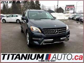 Used 2014 Mercedes-Benz ML 350 BlueTEC Diesel+AMG PKG+Pano+GPS+360 Camera+Blind S for sale in London, ON