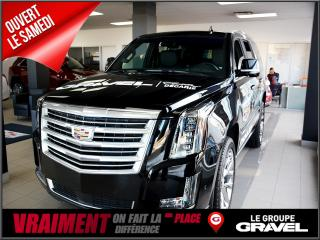 Used 2017 Cadillac Escalade PLATINUM AWD for sale in Montreal, QC