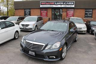 Used 2010 Mercedes-Benz E-Class E550 4MATIC for sale in Scarborough, ON