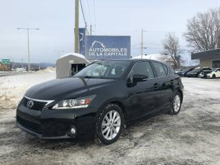 Used 2012 Lexus CT 200h Hybride for sale in Chateau-richer, QC