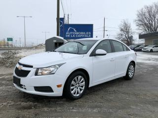 Used 2011 Chevrolet Cruze LT for sale in Chateau-richer, QC
