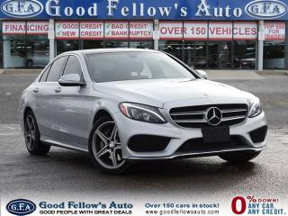 Used 2015 Mercedes-Benz C 300 SUNROOF, LEATHER SEATS,NAVIGATION, REARVIEW CAMERA for sale in North York, ON