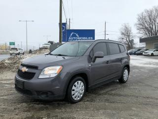Used 2012 Chevrolet Orlando LS for sale in Chateau-richer, QC