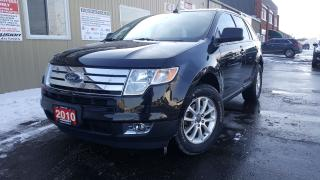 Used 2010 Ford Edge SEL for sale in Tilbury, ON