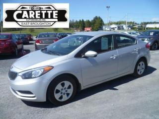 Used 2016 Kia Forte LX for sale in East broughton, QC