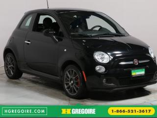 Used 2015 Fiat 500 SPORT A/C GR ELECT for sale in Saint-leonard, QC