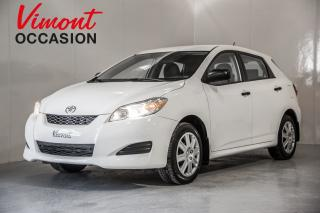 Used 2012 Toyota Matrix for sale in Laval, QC