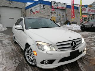 Used 2008 Mercedes-Benz C 350 4MATIC w/NAVI_Panoramic Sunroof_Leather for sale in Oakville, ON