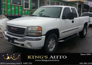Used 2007 GMC Sierra 1500 SLE, 4x4, V8 5.3L for sale in Scarborough, ON