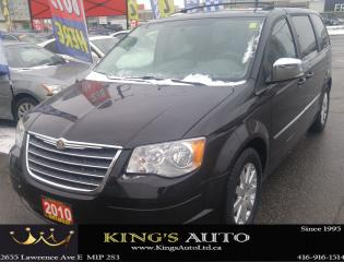 Used 2010 Chrysler Town & Country TOURING, 7 PASS, STOW N GO SEATING, DUAL DVD for sale in Scarborough, ON