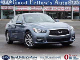 Used 2014 Infiniti Q50 AWD, 6CYL 3.7 L, SUNROOF, NAVIGATION, REAR CAMERA for sale in North York, ON