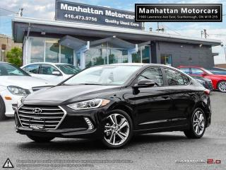 Used 2017 Hyundai Elantra GLS |AUTO|FAC.WARRANTY|ROOF|ALLOY|22000KM for sale in Scarborough, ON