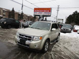 Used 2011 Ford Escape Limited for sale in Scarborough, ON