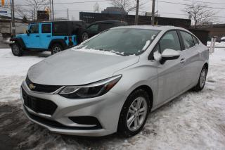 Used 2017 Chevrolet Cruze LT With Sunroof for sale in North York, ON