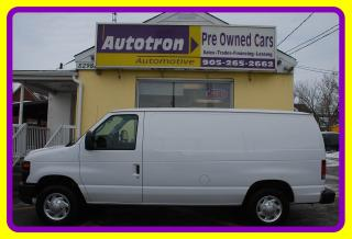 Used 2010 Ford E-150 1/2 Ton Econoline Cargo Van A/C for sale in Woodbridge, ON
