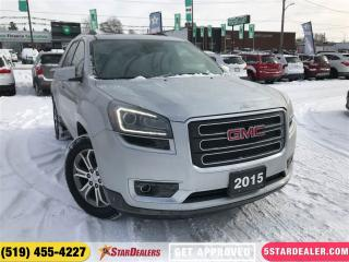 Used 2015 GMC Acadia SLT1 | AWD | 7PASS | NAV | LEATHER | ROOF for sale in London, ON