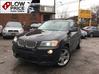 Used 2014 BMW X3 MSport*4Cyl*Leather*Navi*Cam*FullOption* for sale in York, ON