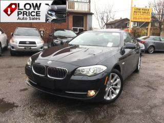 Used 2013 BMW 528 i Navi*Camera*HtdSeats*Bluetooth*FullOption for sale in York, ON