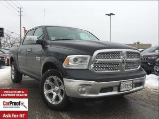 Used 2017 Dodge Ram 1500 *4X4*CREW*LARAMIE*3.0L ECO DIESEL for sale in Mississauga, ON