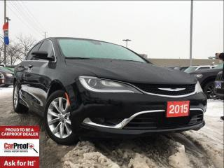 Used 2015 Chrysler 200 C for sale in Mississauga, ON