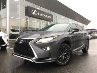 Used 2017 Lexus RX 350 8A for sale in Surrey, BC