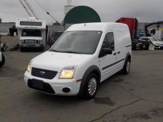 Used 2011 Ford Transit Connect XLT with Bulkhead Divider Cargo Van for sale in Burnaby, BC