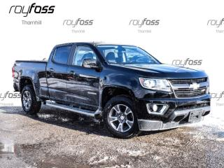Used 2015 Chevrolet Colorado Z71 Crew Cab Rear Cam Trailer Pkg for sale in Thornhill, ON