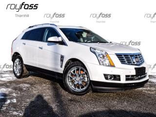 Used 2014 Cadillac SRX Premium AWD Driver Aware pkg Nav Roof for sale in Thornhill, ON