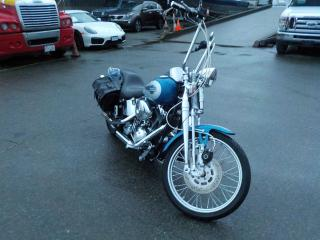 Used 2005 Harley-Davidson Fxstsi Motorcycle with Saddle Bags for sale in Burnaby, BC