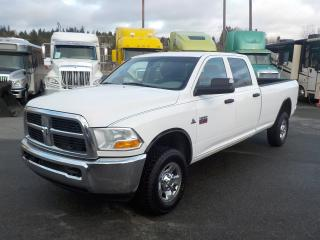 Used 2012 Dodge Ram 3500 ST Crew Cab Long Box 4WD Diesel for sale in Burnaby, BC