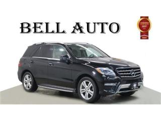 Used 2013 Mercedes-Benz ML-Class ML 350 4MATIC NAVIGATION PANORAMIC ROOF REARCAM for sale in North York, ON