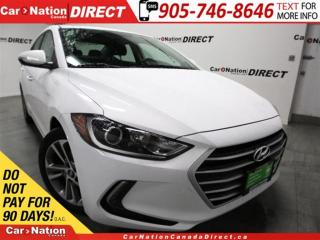 Used 2017 Hyundai Elantra GLS| SUNROOF| BACK UP CAM| BLIND SPOT DETECTION| for sale in Burlington, ON