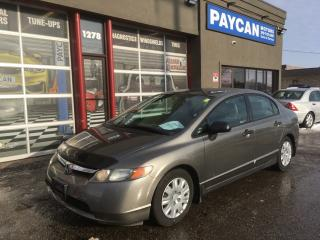 Used 2006 Honda Civic Sdn DX-G for sale in Kitchener, ON