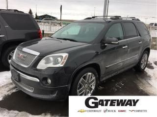 Used 2012 GMC Acadia |Denali|AWD|Navi|DVD|Camera|Heads UP Display| for sale in Brampton, ON