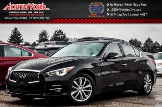 Used 2014 Infiniti Q50 Premium AWD|Sunroof|Nav|Leather|HeatSeats|BackUpCam|17