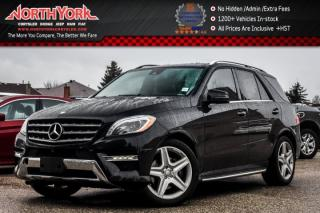 Used 2015 Mercedes-Benz ML-Class ML350 BlueTEC 4Matic|Premium1,Sport,Pk.Asst.Pkgs|Sunroof|Nav| for sale in Thornhill, ON