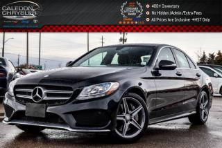 Used 2015 Mercedes-Benz C-Class C 300|4Matic|Navi|Pano Sunroof|Backup Cam|Bluetooth|Keyless|17