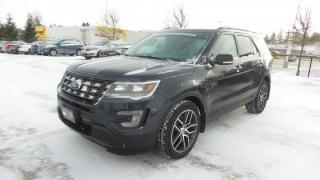 Used 2017 Ford Explorer Sport AWD 3.5L Eco 365Hp 6Pass, Moon, EXEC Demo for sale in Stratford, ON